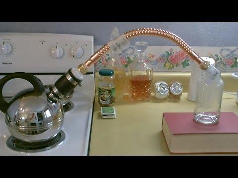 Homemade Water Distiller - DIY - Stove Top