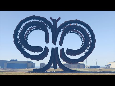 ULTIMATE BUTTERFLY LOOPS! (GTA 5 Funny Moments)