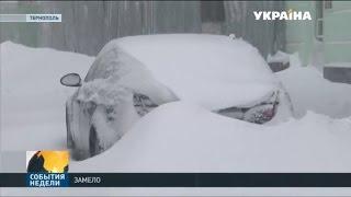 В столице снег пошёл ещё вчера, но настоящая зима разразилась сегодня