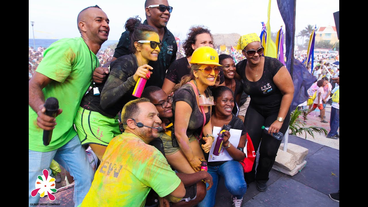 Curacao Color Walk 2015