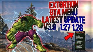 Extortion Gta Menu Latest Update v3.9 [1.27/1.28] Showcase