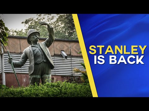 """Congo restores the statue of  of """"Henry Morton Stanley"""""""