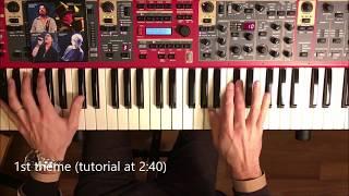 The Muse (David Paich) - Piano solo cover, accompaniment and tutorial