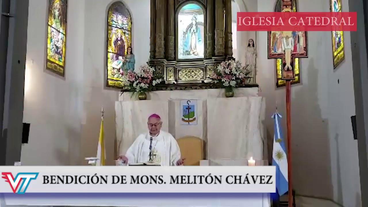 Iglesia Catedral Concepción: La bendición de Mons. José Melitón Chávez
