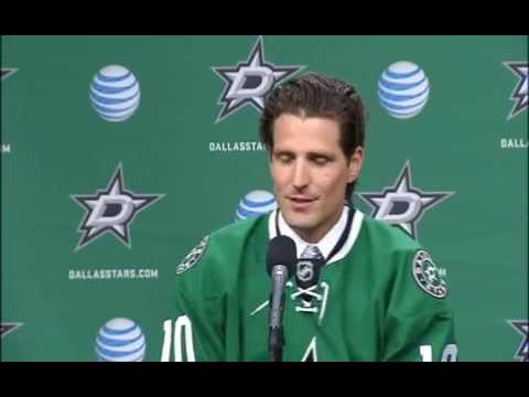 Dallas Stars introduce Patrick Sharp to the team