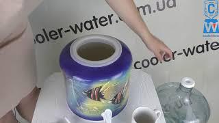 Обзор диспенсер для воды. Керамический кулер для питьевой воды для бутыля 19л в школу/дом/офис