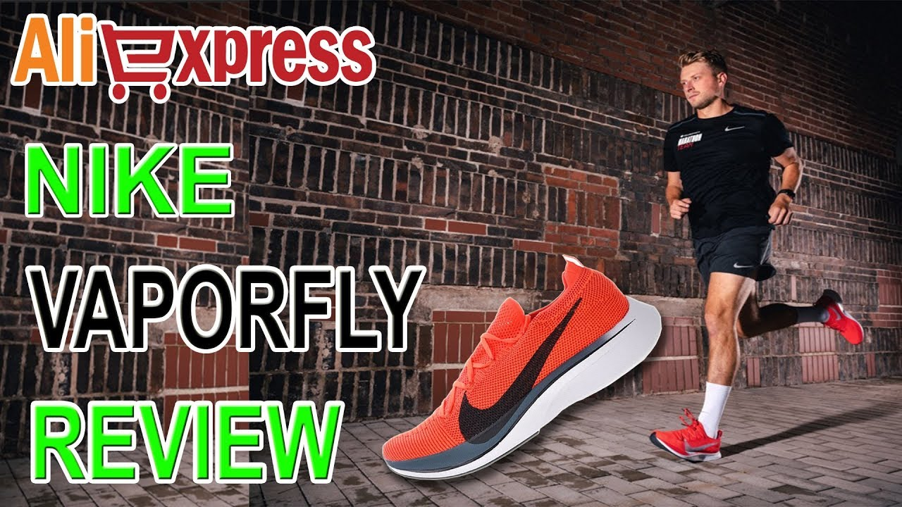 localizar Disminución Hostil  Original Authentic Nike Vaporfly Flyknit 4% Review AliExpress - YouTube