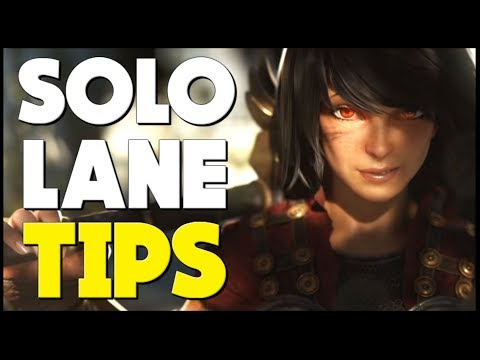 SMITE - Top 5 Solo Lane Tips To DOMINATE The Laning Phase!