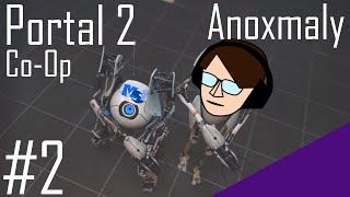 Idiotic Robots Do More Puzzles | Portal 2 Co-Op #2