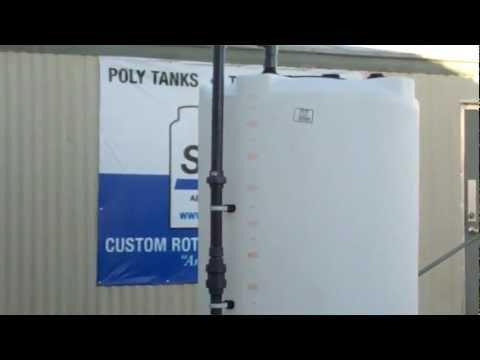 700 Gallon DEF Bulk Tank With Detachable Cabinet | 866-866-8611