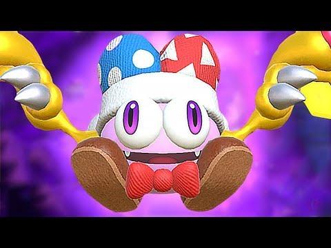 Kirby Star Allies True Final Boss MARX + Ending (Alternate Theme / Stage)