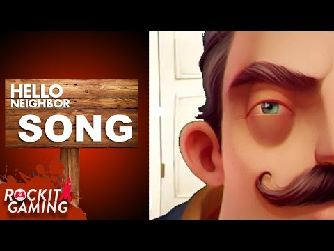Hello Neighbor Song | Alone With You | Rockit Gaming