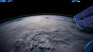 Time-lapse: Flying above the earth by NASA