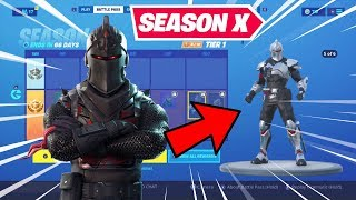 *NEW* Fortnite Season 10 Battle Pass! | Black Knight, Sparkle Specialist & More RETURN...... Kinda