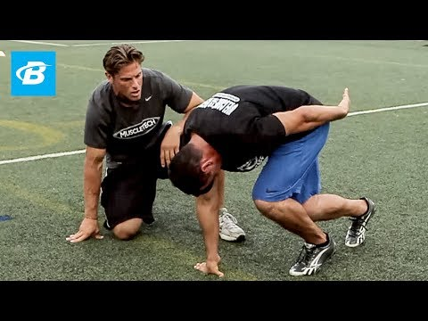 NFL Combine Trainer: 40 Yard Dash - Bodybuilding.com