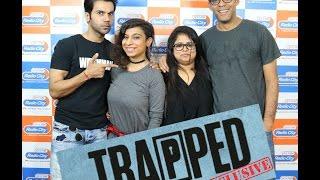 RJSucharitaisTrappedwithRajkumar Rao and Vikramaditya MotwaneatRadio City91.1 FM