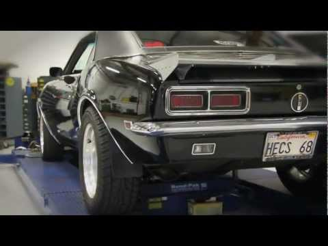 Total Vehicle System suspension Install on a 1967-1969 Chevy Camaro Using Hotchkis TVS System