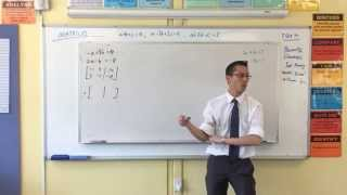 Introduction to Matrices (3 of 3: Example & Key Advantages)