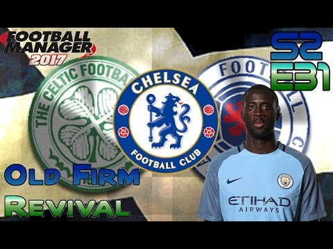 FOOTBALL MANAGER 2017 – OLD FIRM REVIVAL – S2 E31 – EPIC EUROPEAN JOURNEY