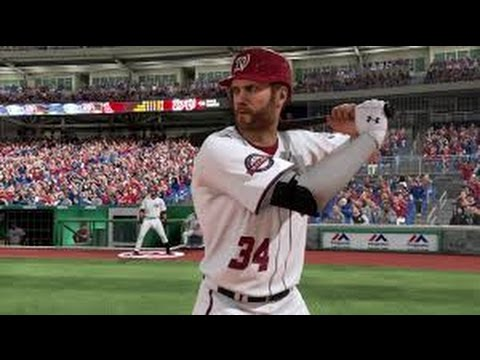 MLB 17 The Show - Rebuilding The Washington Nationals!!!
