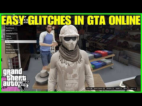 TOP 5 EASY GLITCHES IN GTA ONLINE