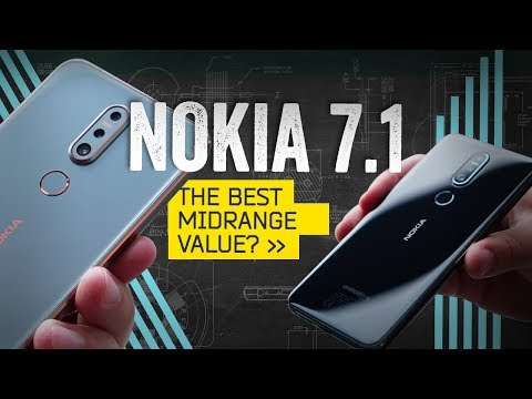 Nokia 7.1 Hands-On: An Affordable Eyeful With Android One