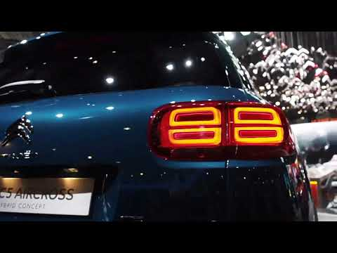 Citroen C5 Aircross Hybrid Concept #AutoShow #StyleOfCar #Automotive #HD007