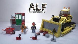 Lego City 60074 Bulldozer - Lego Speed Build Review