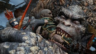 God of War NEW GAME PLUS: Ogre Boss Fight