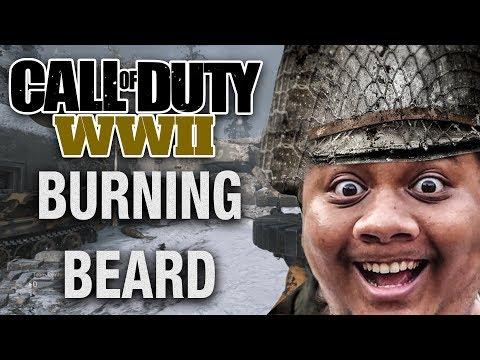 TUTORIYAL KEBAKARAN JENGGOT - Call of Duty WW2