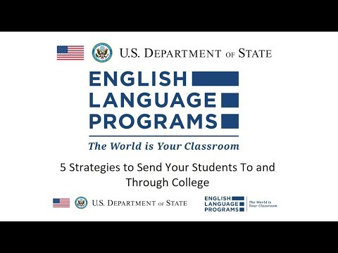 5 Strategies to Send Your Students To and Through College [RELO Andes Webinar - December 2017]