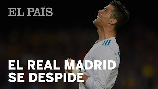 El REAL MADRID se despide de CRISTIANO con este emotivo homenaje