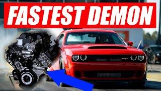1500HP FASTEST DODGE DEMON!!