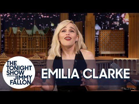 Emilia Clarke Shows Off Her Embarrassing Wookiee Impression