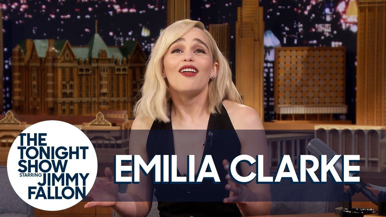 Download Emilia Clarke Shows Off Her Embarrassing Wookiee Impression