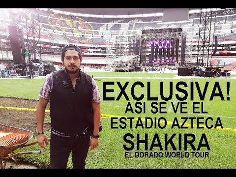 EXCLUSIVAESCENARIOEL DORADO WORLD TOUR MEXICO