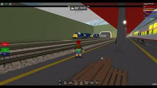 ROBLOX CSX Train Derailment caught on camera