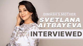 Dimash's mother Svetlana Aitbayeva Interviewed ~ Димаштың анасы Светлана Айтбаеваның сұхбаты