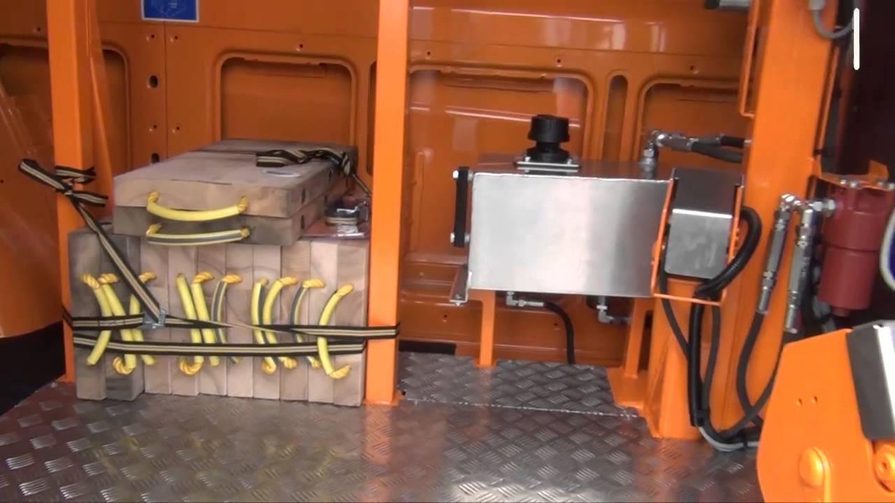 JDL : France Elevateur présente une nacelle sur fourgon à forte charge utile