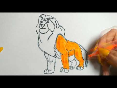 КОРОЛЬ ЛЕВ, Рисунки и Раскраски для детей,LION KING, Pictures And Coloring Pages For Kids,