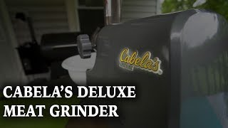 Cabela's Deluxe Grinder Review