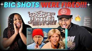 """Epic Rap Battles of History """"Jacques Cousteau vs Steve Irwin"""" REACTION!!!"""