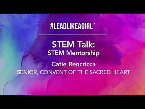 STEM Talk, Catie Rencricca, Convent of the Sacred Heart