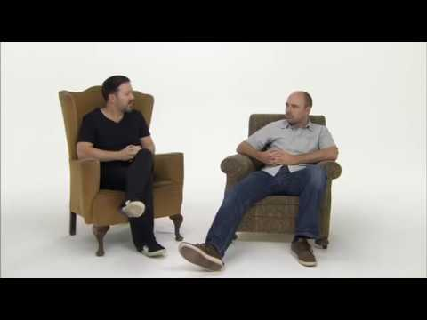 Karl pilkington rare interview funny