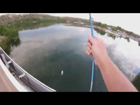 Lubbock TX Fishing:  Football Bass!