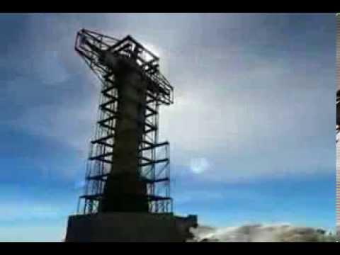 Бразилия  Строительство статуи Иисуса Христа