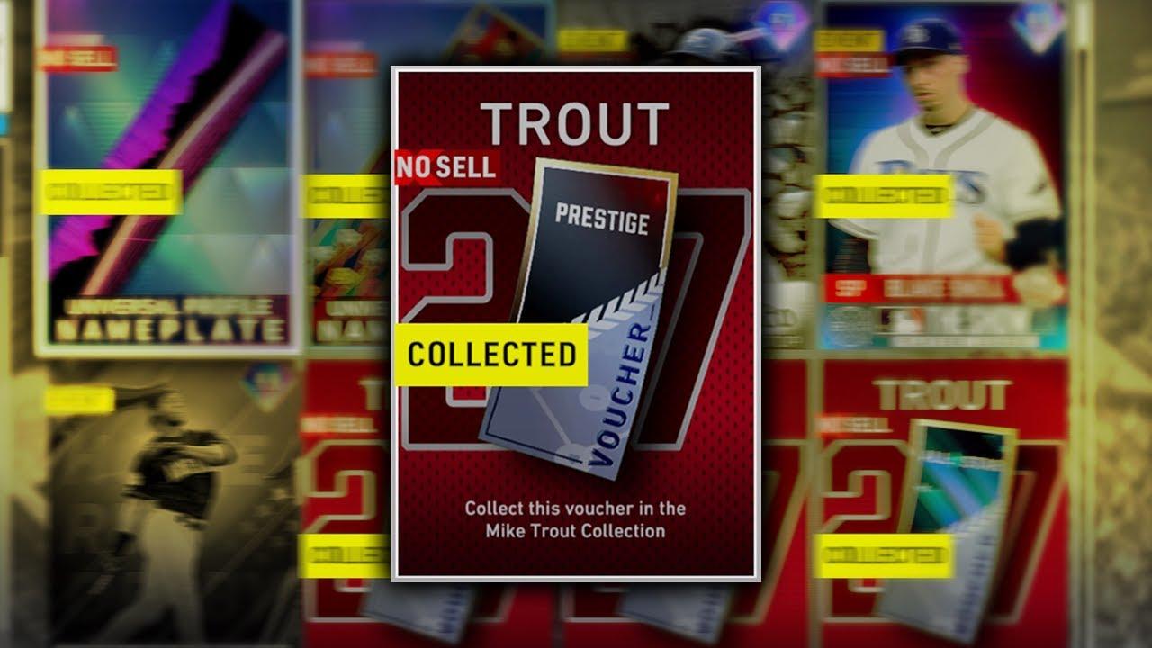Top 5 Easiest And Most Efficient Prestige Programs | Mike Trout Prestige Voucher Walkthrough