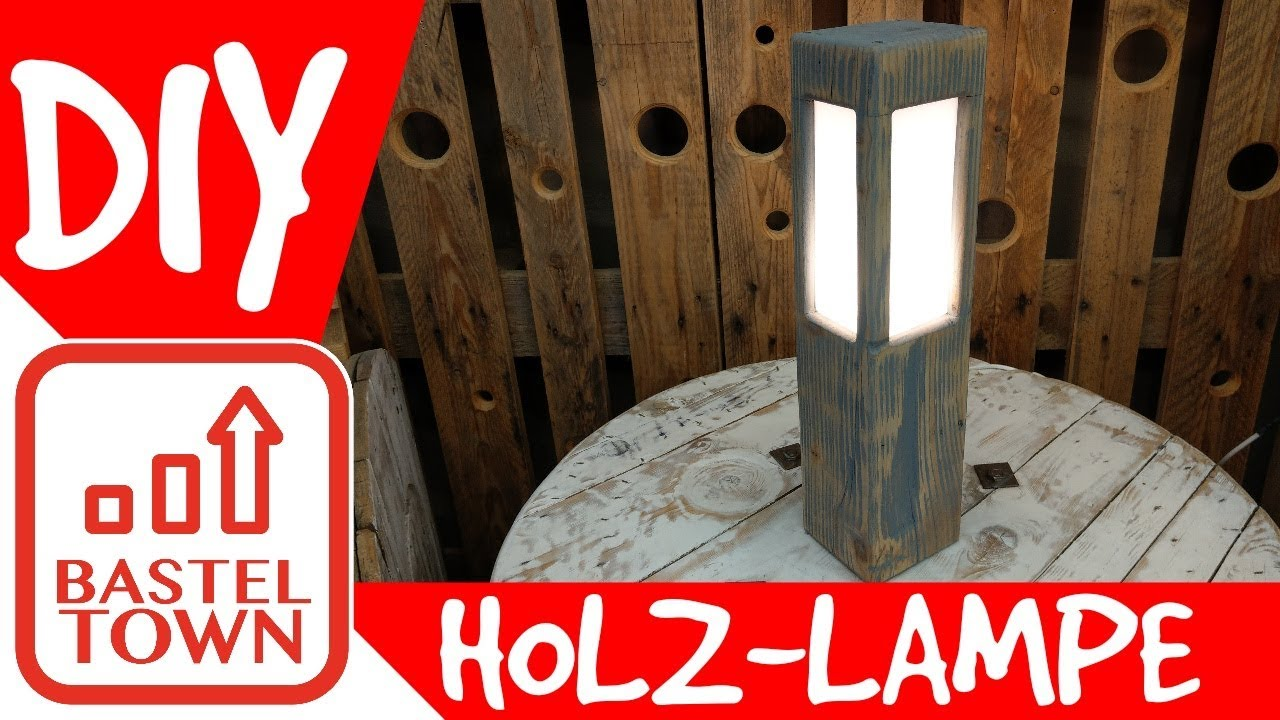 Holz Lampe Selber Bauen Mit Altholz Plexiglas Schone Vintage