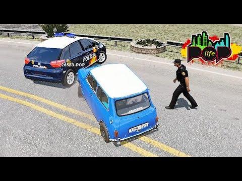 POP LIFE - VACILANDO A LA POLICIA CON UN MINI XDDD - Nexxuz