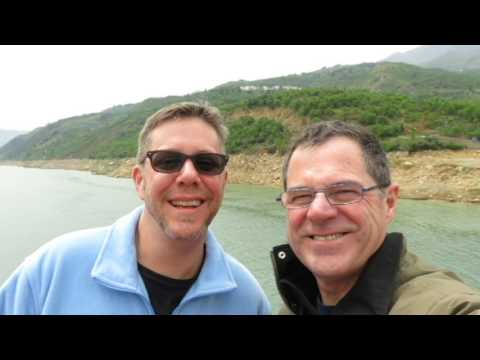 Tom and Chip   Yangtze River Cruise   April 2017